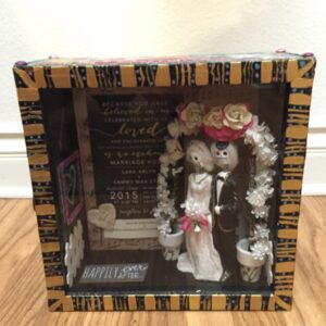 12x12x5 inch Wood Wedding Box